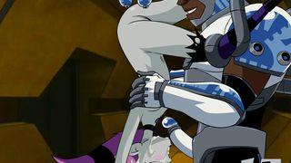 Jinx Vs Cyborg