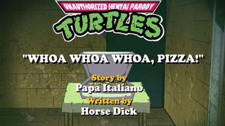 Hentai Parody Turtles Whoa Whoa Whoa Pizza